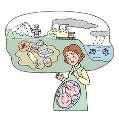 環境ホルモンのイメージ
